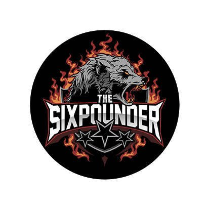THE SIXPOUNDER Sticker